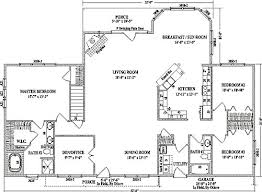 best open floor plans alexandria iii by wardcraft homes ranch floorplan
