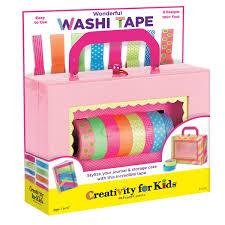 Washi Tape Designs by Amazon Com Creativity For Kids Wonderful Washi Tape Toys U0026 Games