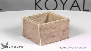 Wooden Centerpiece Boxes by Wood Manzanita Boxes For Natural Branch Centerpieces In Weddings