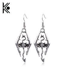 skyrim earrings aliexpress buy hot tes the elder scrolls v skyrim