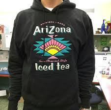 arizona iced tea sweatshirt or crew neck on the hunt