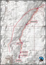davis map hiking davis gulch in the rock road road trip