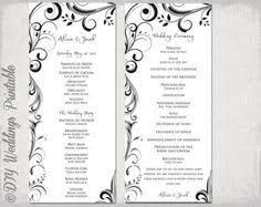 blank wedding programs wedding programs for cg wedding programs programming and weddings