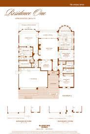 Size Of Three Car Garage by Las Sendas Floor Plans U2014 The Bearse Team