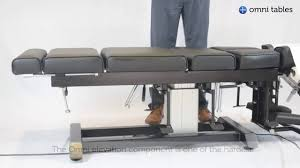 chiropractic drop table technique omni total drop elevation chiropractic table youtube