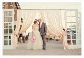 wedding backdrop doors unique ceremony backdrops weddings illustrated