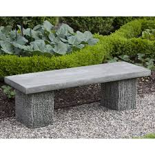 backless bench outdoor outdoor garden benches porch swings patio gliders cast stone 35