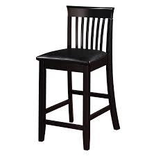 linon black x back bar stool hayneedle