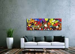 contemporary graffiti canvas art for the modern home http www
