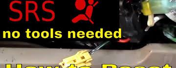 honda accord srs light how to reset srs airbag light turn the srs vehix411