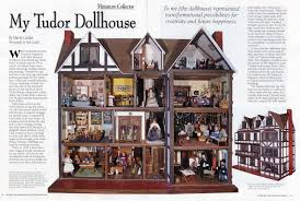 miniature collector magazine article on marny u0027s tudor miniature house