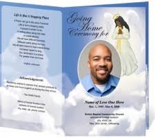 funeral programs templates free best photos of downloadable funeral programs funeral program