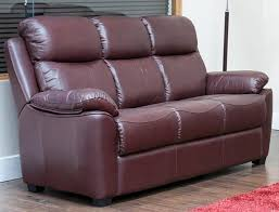 Recliner 3 Seater Sofa Reclining 3 Seater Leather Sofa Suite Available In Black Brown