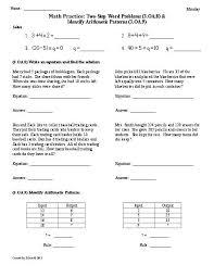na step worksheets worksheets