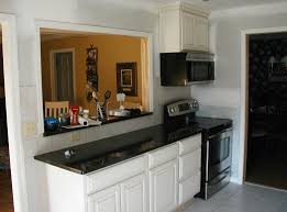 Galley Kitchens With Breakfast Bar Kitchen Move Stove Microwave And Add A Pass Through 940