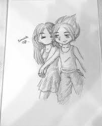 gallery beautiful couple pencil sketch drawing art gallery