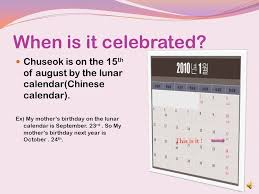 what is the chuseok is like thanksgiving day we say