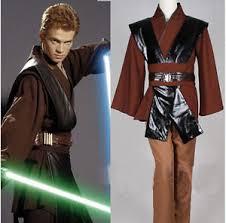 Anakin Halloween Costume Custom Star Wars Anakin Skywalker Cosplay Costume Men
