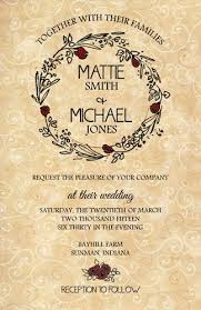 wedding invitations and rsvp wedding invitations western flowers 10 invitations and 10 rsvp