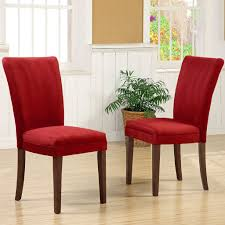 oxford creek parson dining chairs in cranberry red finish set of oxford creek parson dining chairs in cranberry red finish set of 2 red home furniture dining kitchen furniture dining chairs