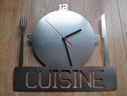 horloge murale cuisine originale étourdissant horloge de cuisine originale et daco pendule cuisine