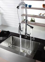 kraus pull out kitchen faucet kraus pull out chrome kitchen faucet sophisticated and functional