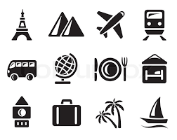 Travel Icons images Travel icon set stock vector colourbox jpg