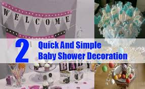 simple baby shower decorations and simple baby shower decoration easy and cheap baby