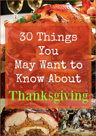 30 things you may want to about thanksgiving asklatisha