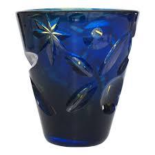 Modern Glass Vase Göran Wärff Modern Art Glass Vase For Kosta Boda Unica For Sale