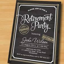 retirement invitations retirement party invitations plumegiant