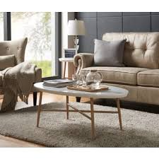 coffee table grey living room oval coffee console sofa end tables for less overstock com