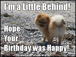 Birthday Facebook Meme - belated birthday glitter graphics comments gifs memes and