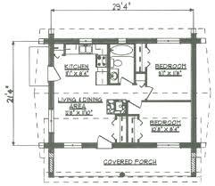 log cabin floor plans under 1000 square feet