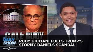 Sho Rudy rudy giuliani fuels s the daily show
