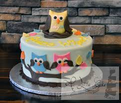 owl cakes for baby shower baby shower owl cake