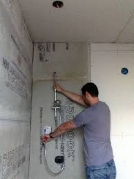 where to install a shower with bar terry plumbing