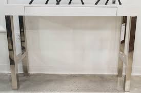White Gloss Console Table Remarkable Modern White Lacquer Console Table Photo Ideas