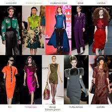 2013 fall fashion colors