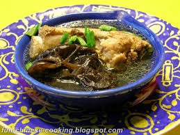 pork rib soup with black fungus 木耳排骨汤 fun chinese cooking