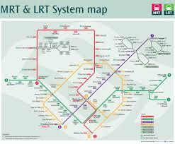 Mass Map Official Map Singapore Mrt Singapore U0027s Mass Transit Maps