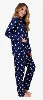 pj salvage s cats pajamas flannel pajama set in navy