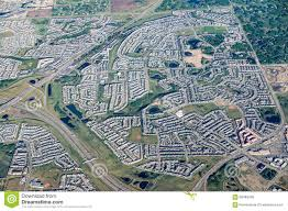 Calgary Canada Map by Scenic Aerial View Of City Of Calgary Canada Stock Photo Image