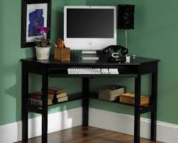 Small Hideaway Desk Office Desk Small Corner Desk With Drawers Black Corner Computer