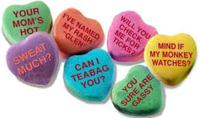valentines day candy hearts heart candy sayings s day info