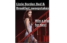 Lizzie Borden Bed And Breakfast Lizzie Borden Bed And Breakfast Sweepstakes Sweeps Maniac