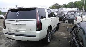 salvage title for sale 2015 cadillac escalade for sale repairable front end damage