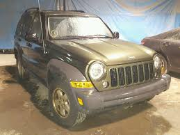 2006 green jeep liberty 1j4gl48kx6w289729 2006 green jeep liberty sp on sale in in