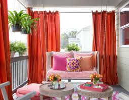 Living Room Privacy Curtains Eye Catching Figure Spunky Blackout Window Curtains Brilliant Air