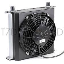 oil cooler fan kit 235mm 34 row oil cooler fan shroud kit